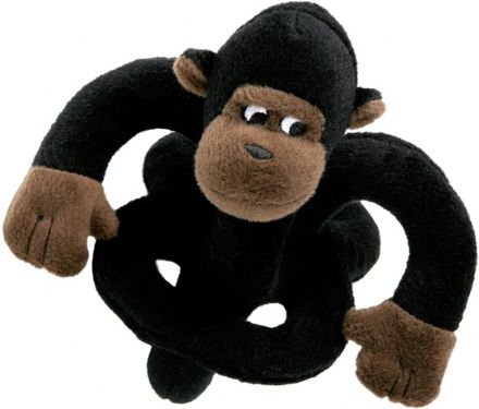 Loopies soundchip talking chimp dog toy
